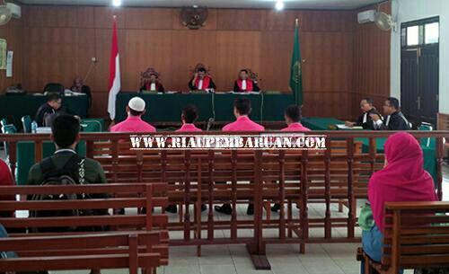 Terdakwa Divonis 10,5 Tahun Penjara