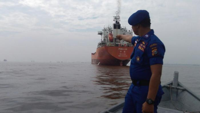 Diperairan Dumai, Polisi Gagalkan Perampokan Kapal