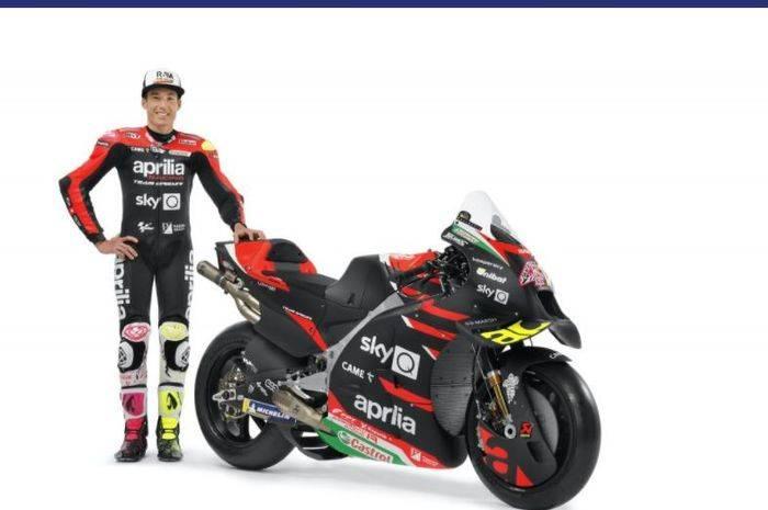 Aprilia Luncurkan Motor, Indonesian Racing Nampang pada MotoGP 2021