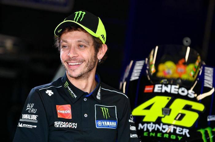 Valentino Rossi Direstui Bos MotoGP untuk Tetap Balapan