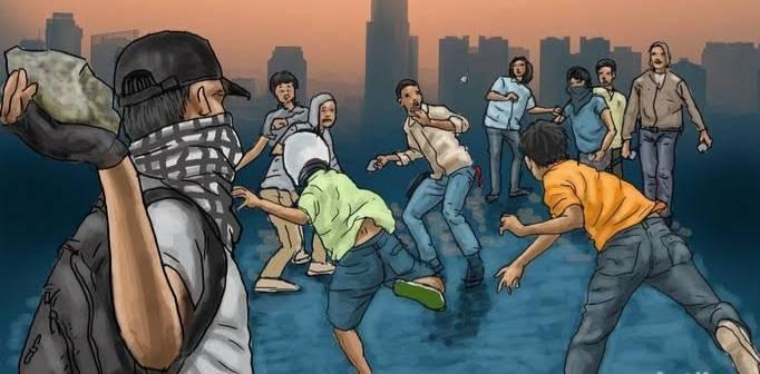 Bentrok Antar Pemuda Kembali Terjadi di Bengkalis, 9 Orang Luka-luka