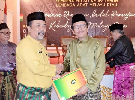 Pakar di Riau Bahas Rencangan Induk Pemajuan Kabudayaan Melayu
