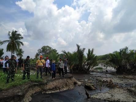 Tim Studi Menko Kemaritiman RI Kaji Abrasi Pulau Bengkalis