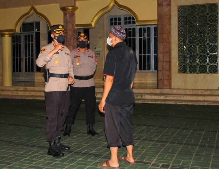 Ciptakan Situasi Kondusif Kapolres Seruyan Gelar Patroli Dimalam Idul Adha