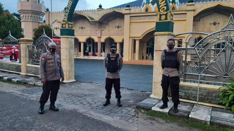 Satreskrim Polres Seruyan Lakukan Pengamanan Dalam Kota Rangka Perayaan Idul Adha 1442 H