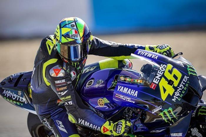 Rossi Buru Rekor di MotoGP Ceko 2020