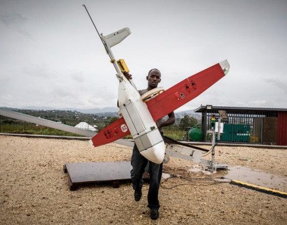 Drone Logistik Terbesar di Dunia Siap Beroperasi