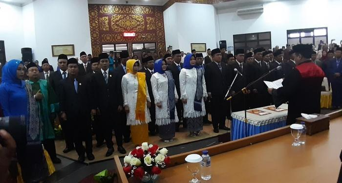 30 Anggota DPRD Kota Dumai Periode 2019-2024 Dilantik