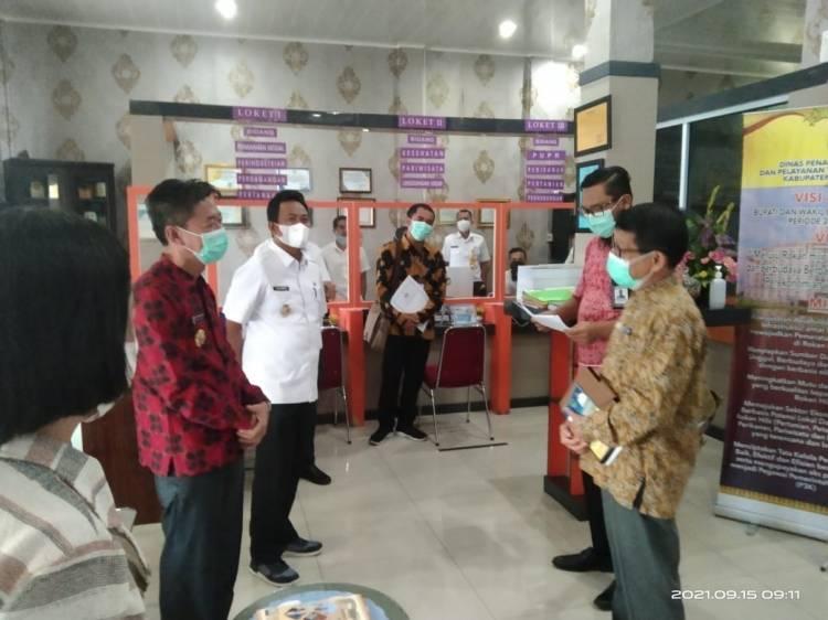 Ombudsman RI Melakukan Penilaian Pelayanan Publik Mendadak di Pemkab Rohil