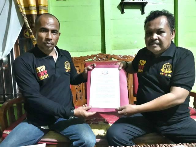 GNPK-RI Provinsi Riau Serahkan Mandat ke-3 Penggiat Anti Korupsi di Rohil