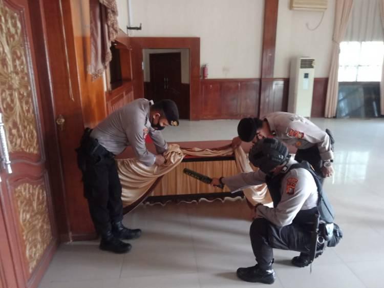 Pengamanan Pleno KPU Dumai Libatkan 60 Personil Polri