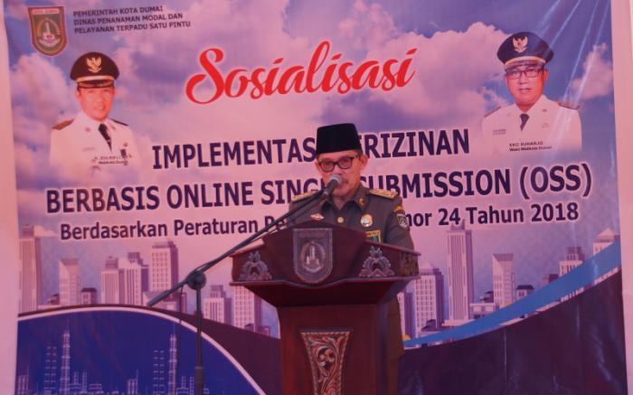 DPMPTSP Dumai Sosialisasi Implementasi Perizinan Berbasis OSS