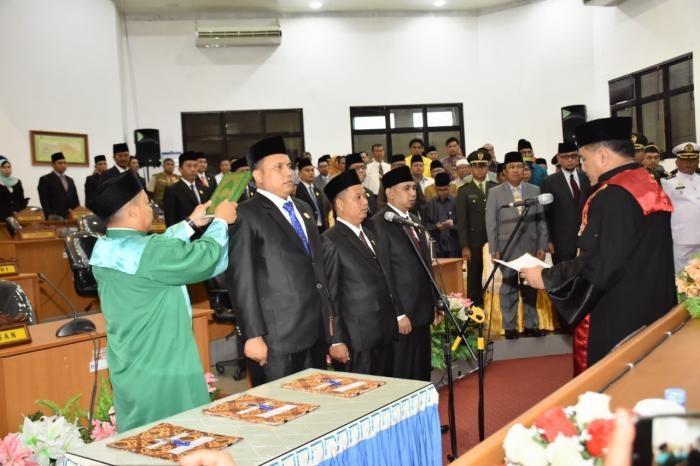 3 Pimpinan Definitif DPRD Dumai Dilantik